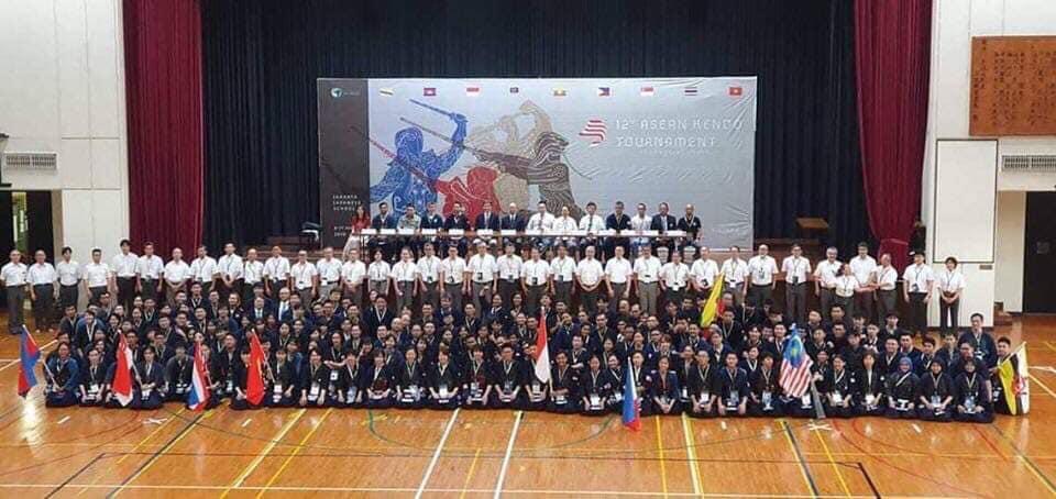 Kejuaraan Kendo - 12th Asean Kendo Tournament 2019 Jakarta Indonesia