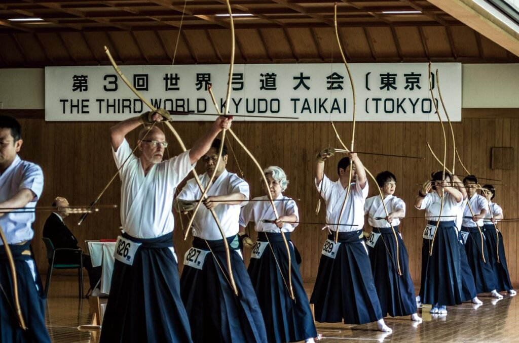 3rd world kyudo taikai tokyo