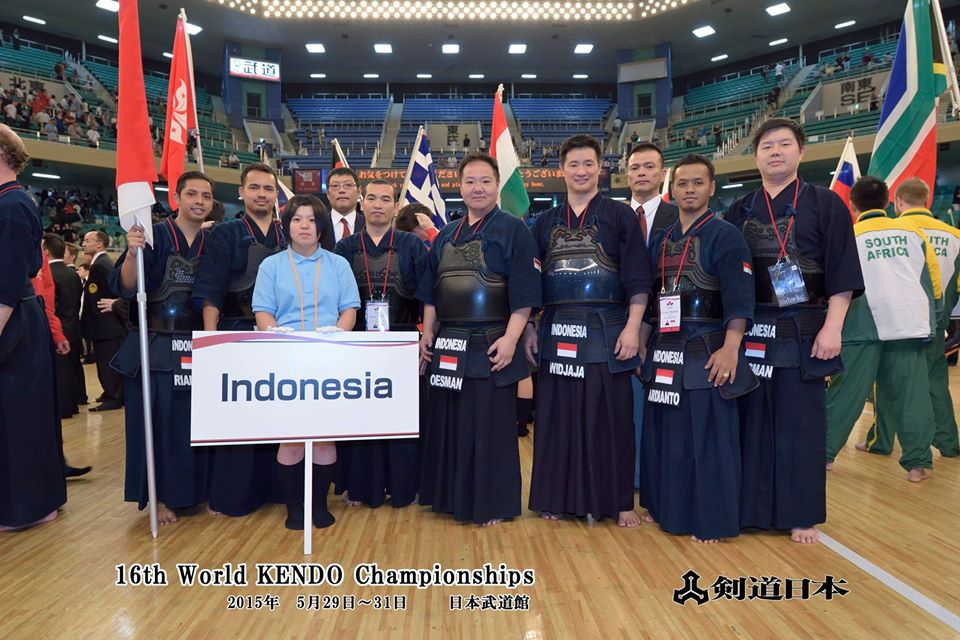 Indonesia Kendo Association 16th WKC Tokyo Japan