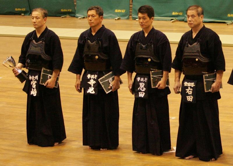 Miyazaki Masahiro Pemegang tingkatan dalam kendo Dan 8