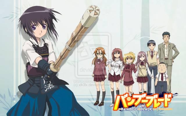 anime manga komik kendo bamboo blade