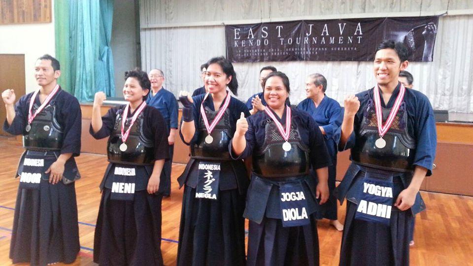 East Java Kendo Tournament 2015