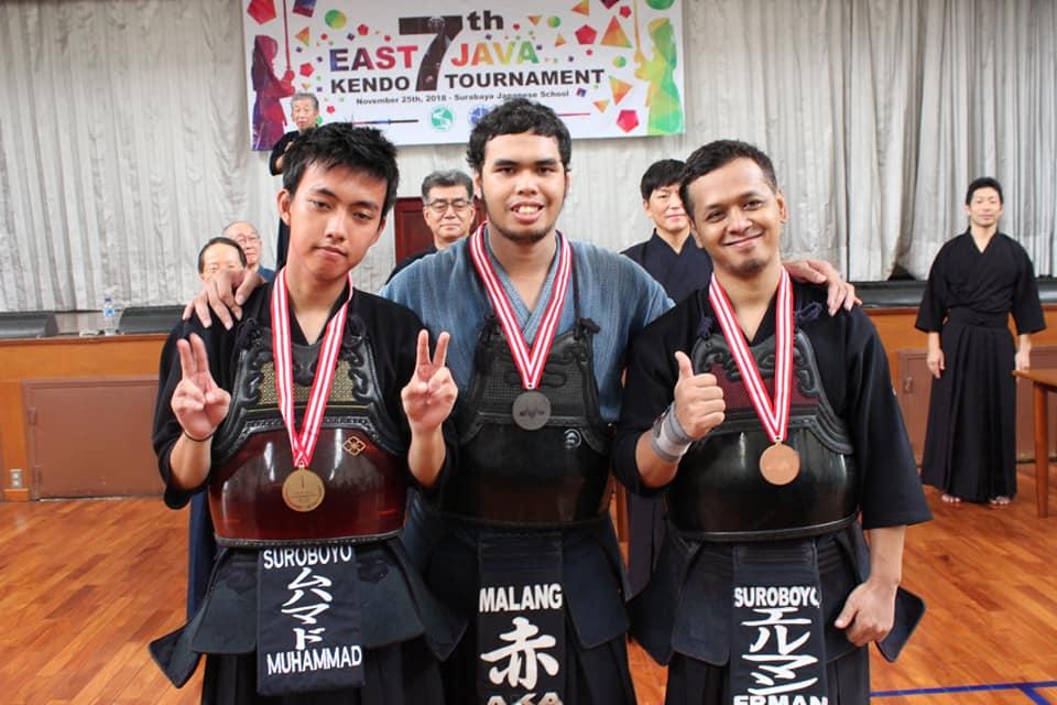 East Java Kendo Tournament 2018 men Dan