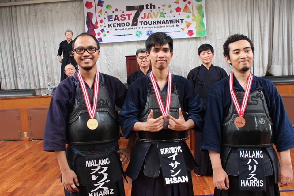 East Java Kendo Tournament 2018 men kyu