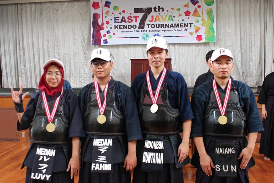 East Java Kendo Tournament 2018 Spirit samurai