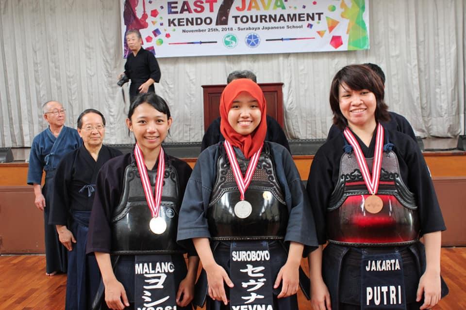 East Java Kendo Tournament 2018 woman