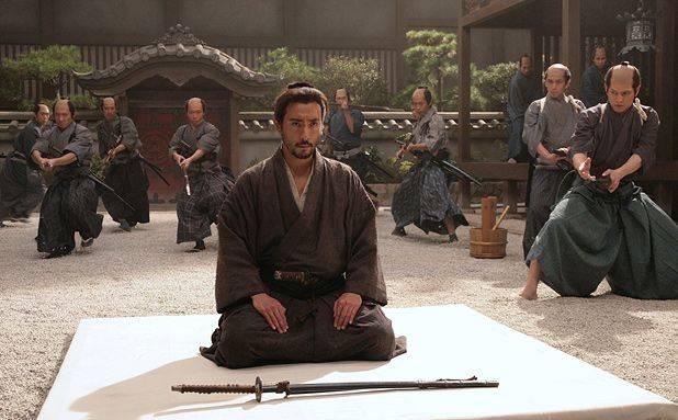 film movie harakiri samurai