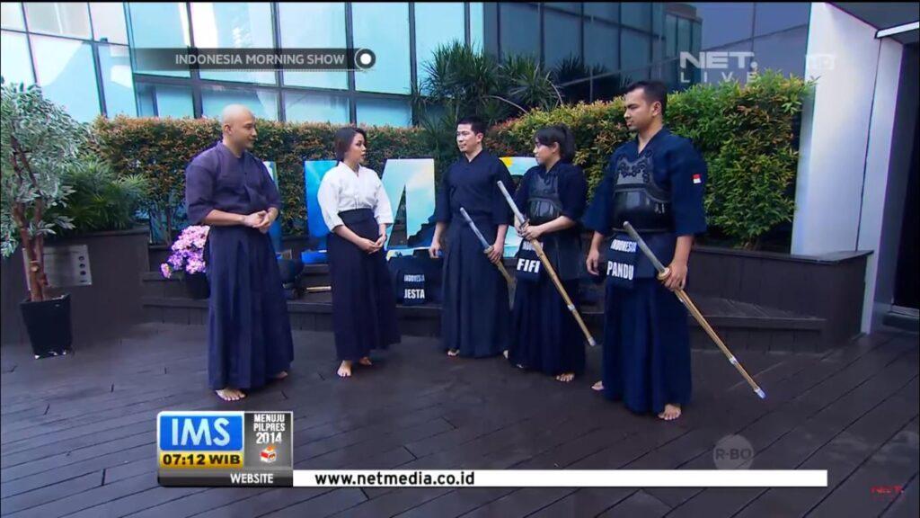 penerimaan anggota baru Jakarta Kendo