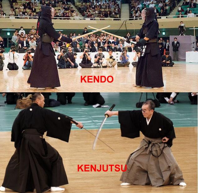 kendo vs kenjutsu