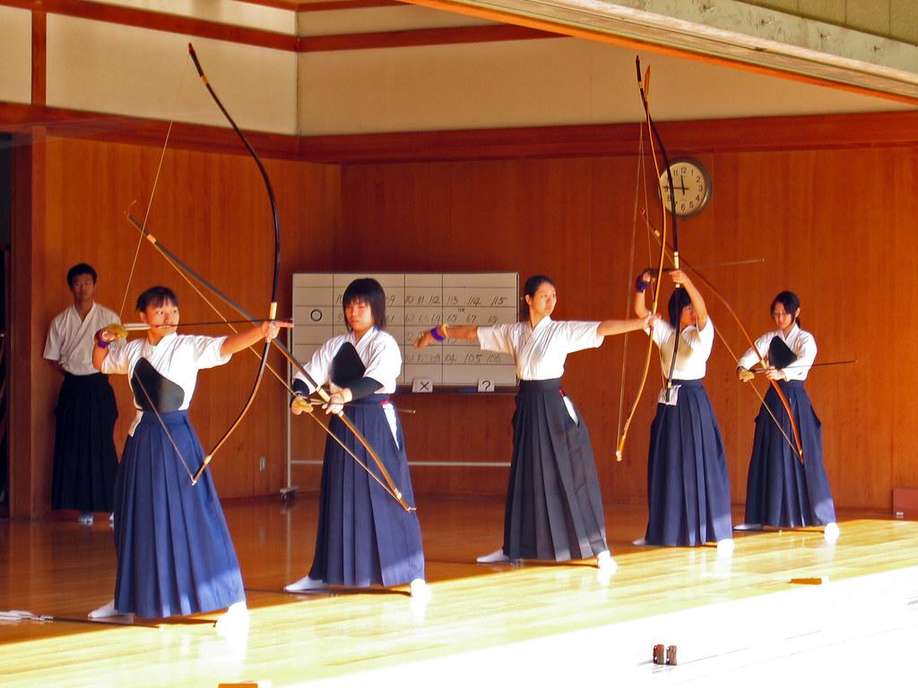 kyudo samurai archery