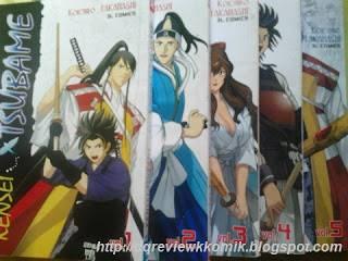 anime manga komik kendo kensei tsubame