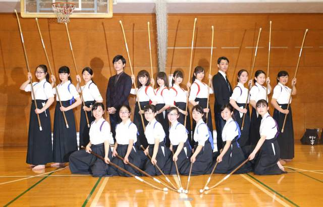 naginata high school team