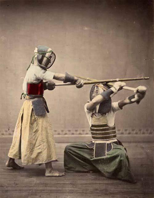 old bogu kendo