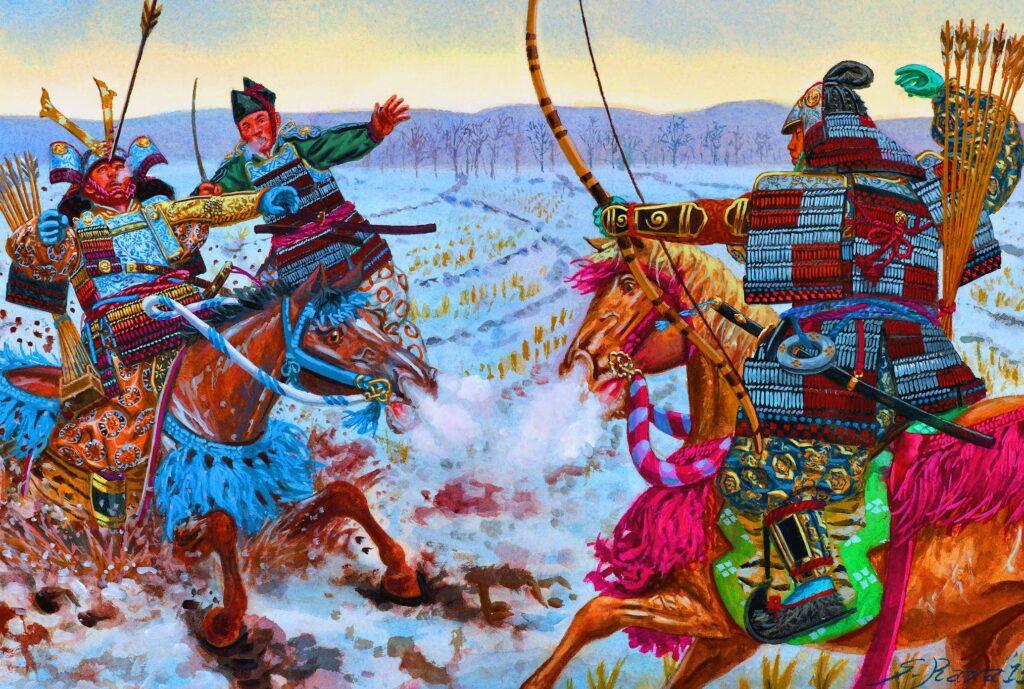 senjata samurai busuh dan panah