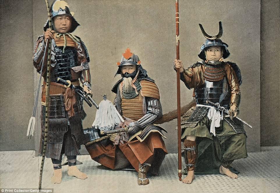 senjata samurai