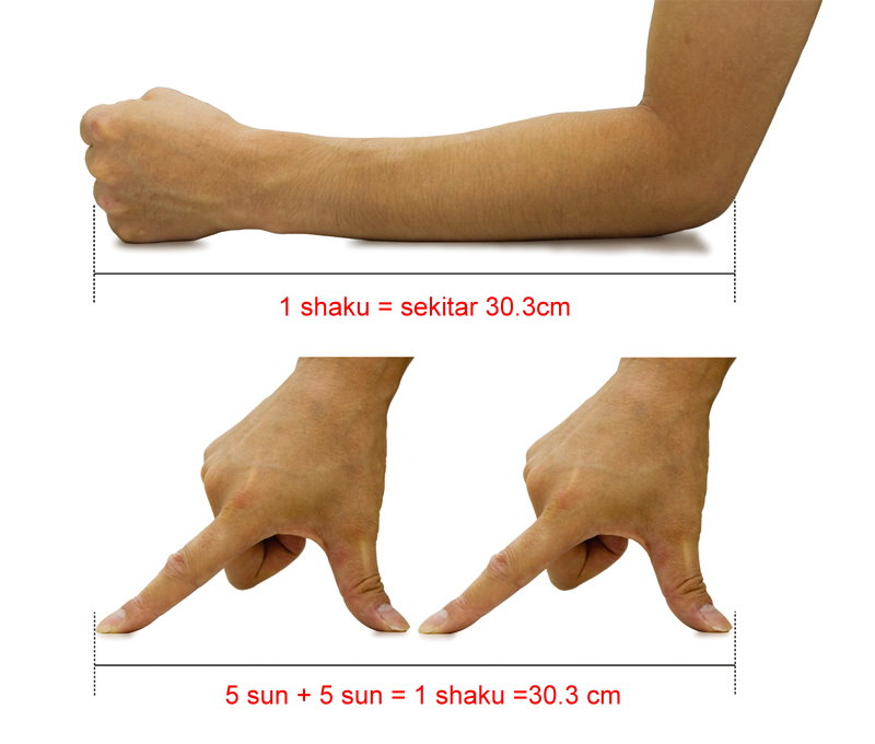 shaku sun bu japanese measurement