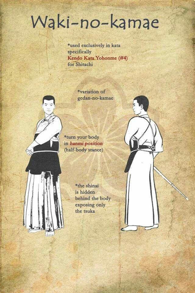 waki no gamae kendo