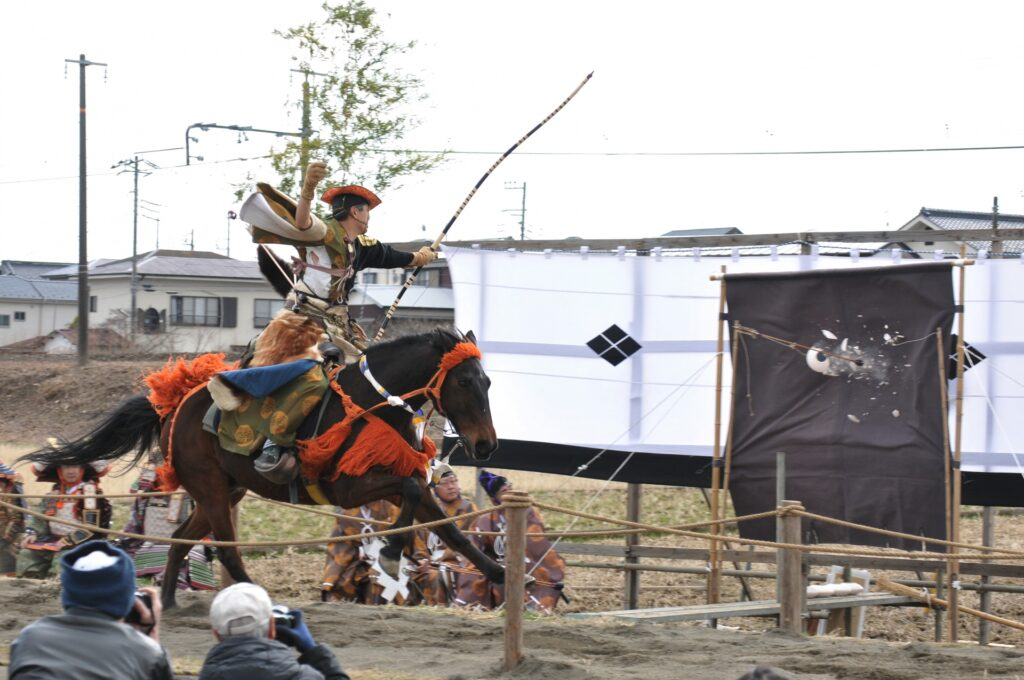 yabusame kyudo japanese samurai