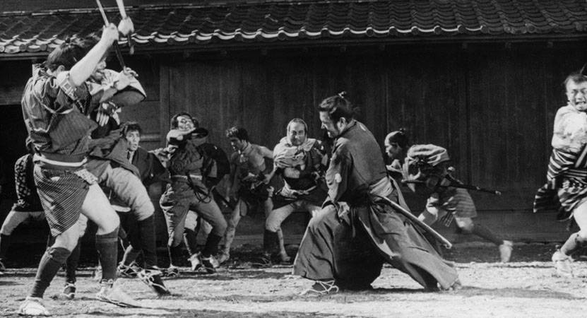 yojimbo film samurai terbaik
